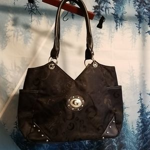 GUESS purse, excellent condition,  leather handles